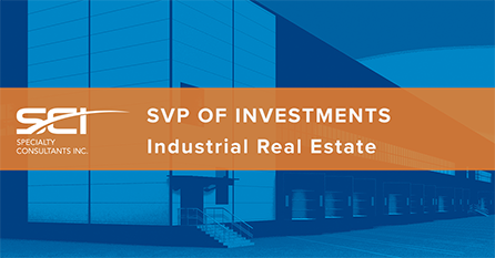 SVP of Investments - Industrial