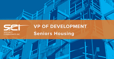 vp development seniors housing